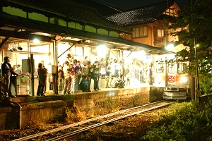 20091031_加賀一の宮駅最終列車