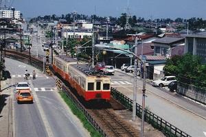 1990年ごろ内灘駅