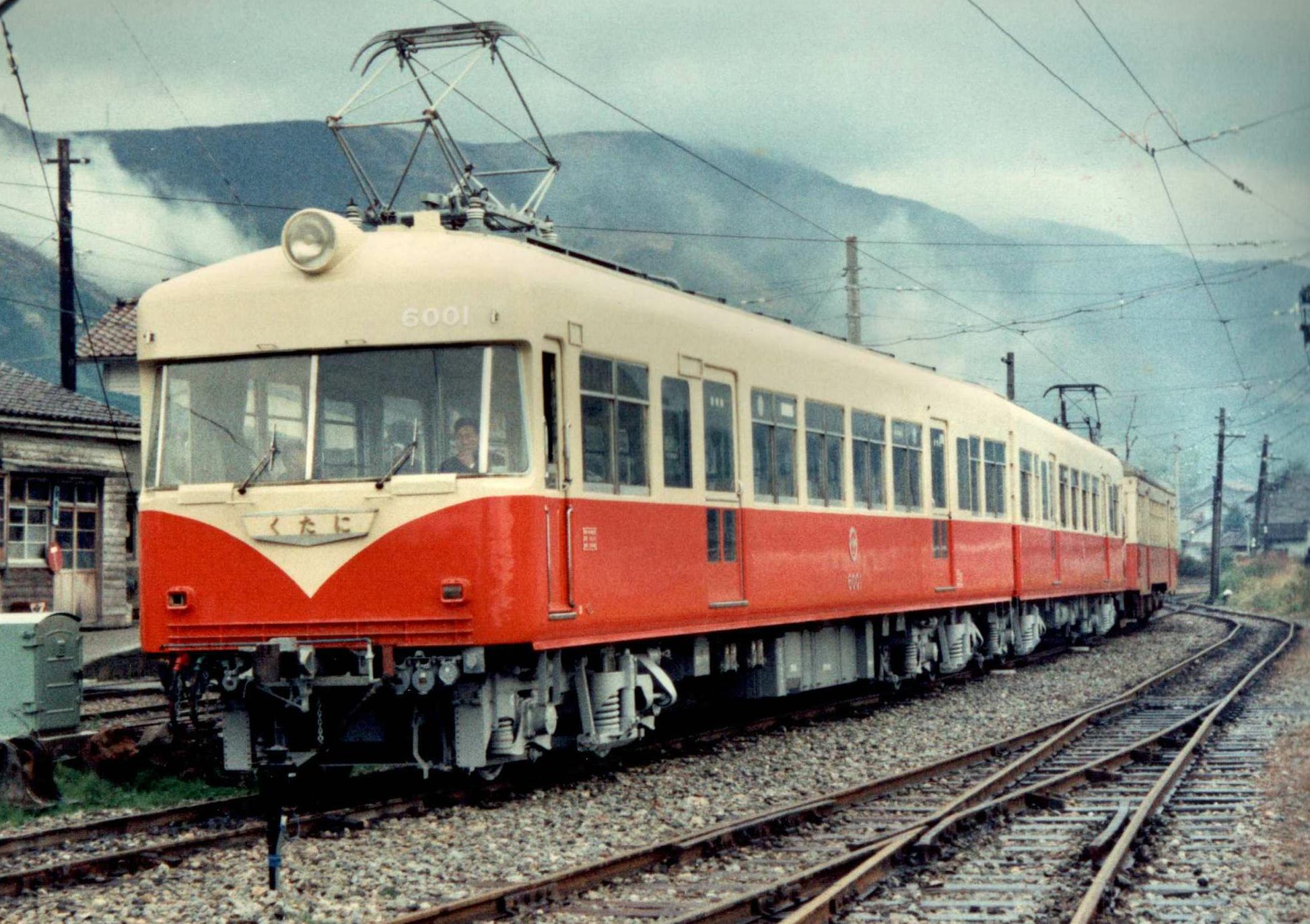 過去の車両 加南線6000系