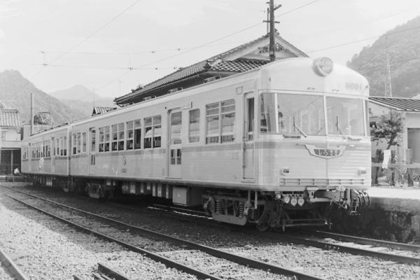過去の車両 加南線6010系