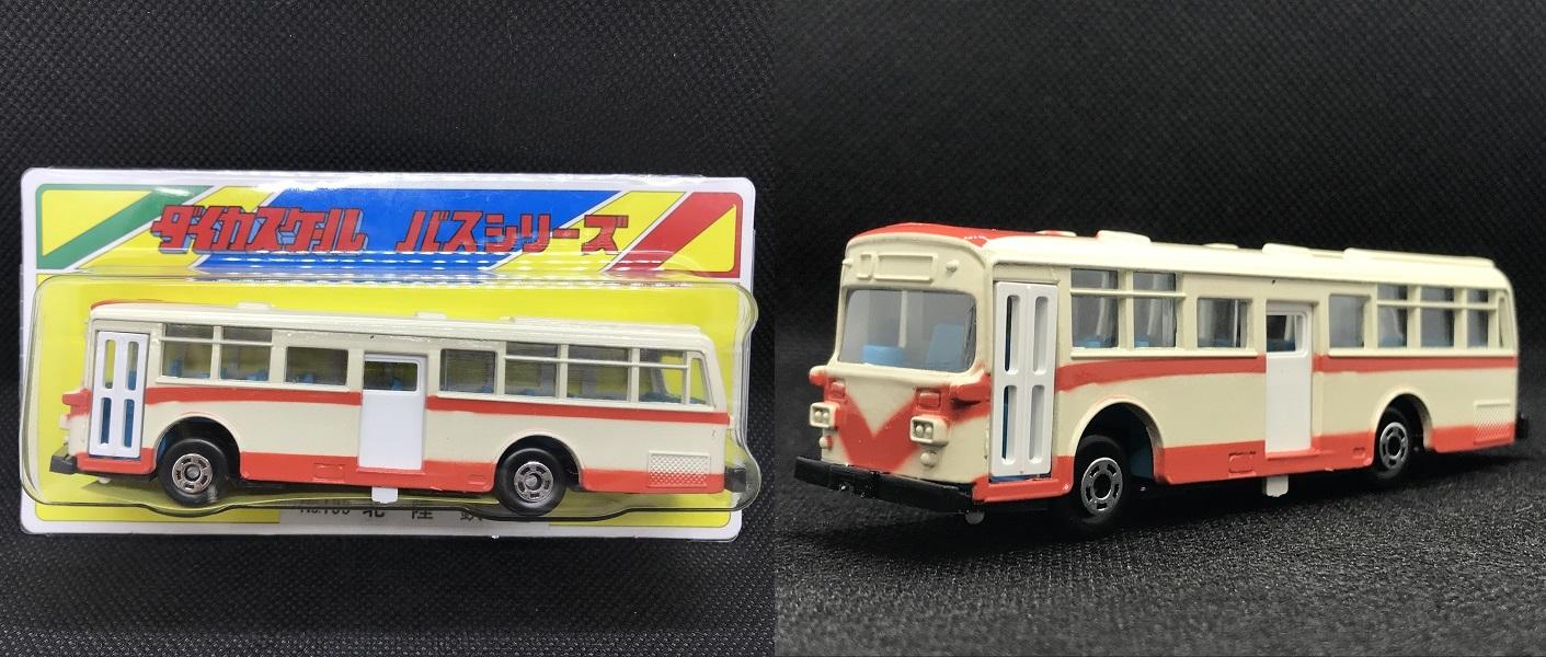 ダイカスト製バスモデル「ダイカスケール 北鉄限定バージョン」